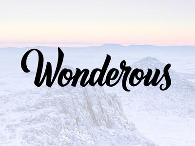Wonderous