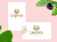Logodesign and branding for cosmetic`s company