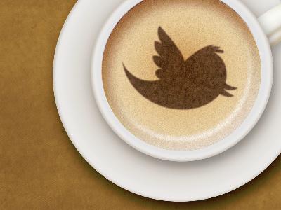 Social Coffee twitter social coffee illustration