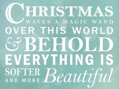 Xmas Typography 2 xmas christmas typography quote