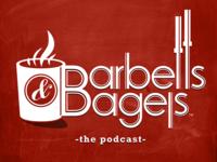 Barbells & Bagels Podcast Logo