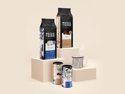 Taika #1 mockup art director concept branding concept branding and identity mug coffee cup coffeepackaging coffee packagingdesign packaging package branding design branding