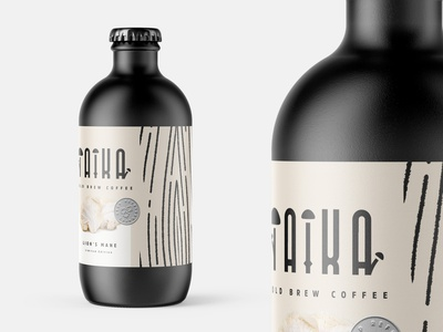 Taika #2 concept design concept design brand and identity art direction branding cold lionsmane illustration packaging packaging design coffee cold brew cold brew coffee mockup