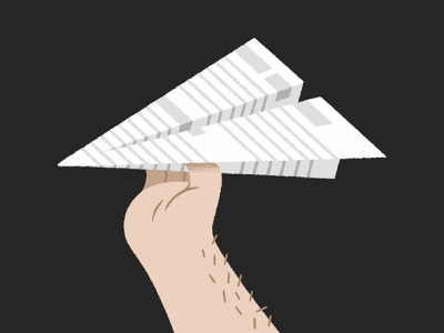 Project Enquiries paperplane hand email brief enquiry project