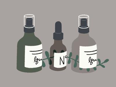 Beauty Bottles body oils products beauty products plant bottles beauty