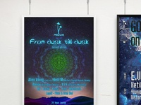 Psyks (Psytrance party posters)