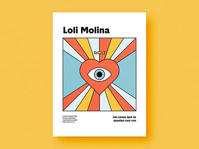 Las cosas que se quedan en vos love music editorial geometric geometry print poster square circle shapes grain texture flat minimal minimalism minimalist vector