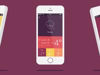 Weather app 01