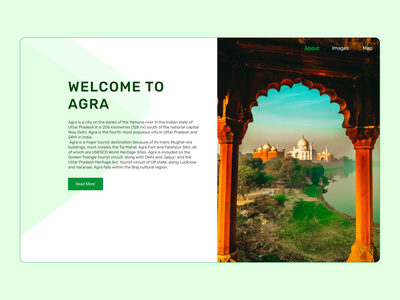 Day 36: Landing Page For Historical Places illustration mobileapp webapplication websitedesign website landingpagedesign landingpage uidesign uiux daily ui challenge dailyui 100 days challenge uxdesign ui challenge ui design ux