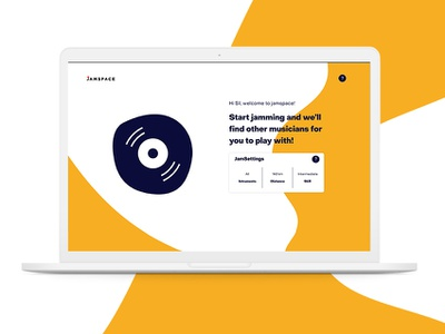 JamSpace - UI/UX Design ux designer ux design ux web ui new awesome website platform debut graphic interaction designer interaction design interaction concept