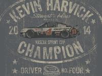Harvick Garage Sign Tee