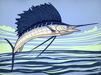 Sailfish sketch