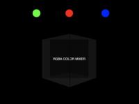 RGBA Color Mixer