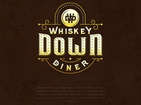 Whiskey Down Diner Logo