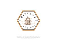 Vibrant Bee Co. Logo Proposal