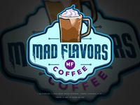 Mad Flavors Coffee Logo Proposal