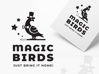Magic Birds logo proposal