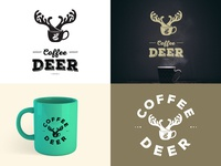 Coffee Deer logo proposal