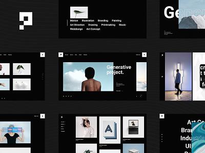 Pearce - Portfolio Theme freelancer photography branding creative landing page website mockup wordpress theme ux ui layout agancy digital studio portfolio