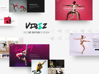 Vibez - Dynamic Theme for Dance Studios and Instructors studio music dancer multipurpose events dance coming soon ballet web design template responsive layout theme wordpress