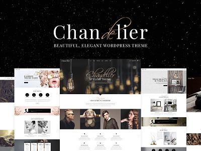 Chandelier - Luxury Theme for Custom Brands shop jewelry fashion cafe business branding agency blog beauty portfolio creative web design template responsive layout theme wordpress