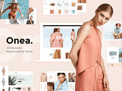 Onea - Elegant Fashion Shop clothing fashion online shop creative responsive layout store shop web design website mockup template theme wordpress