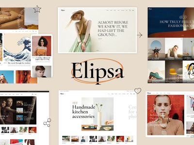 Elipsa - Creative Magazine Theme creative template responsive theme wordpress
