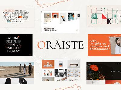 Oráiste - Creative Portfolio WordPress Theme design template responsive theme wordpress