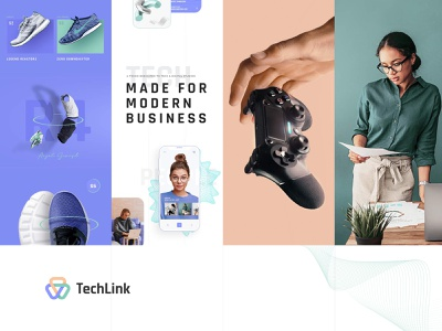 TechLink - Technology and IT Solutions Theme responsive theme wordpress