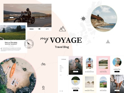 MyVoyage template theme wordpress