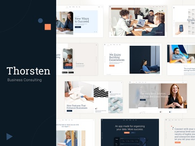 Thorsten - Business Consulting template design responsive layout theme wordpress