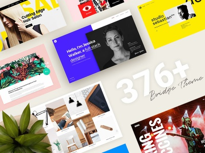 Bridge - The Best Selling Creative Theme brdige multi purpose marketing wordpress web ux branding digital theme agency ui qode design colorful creative