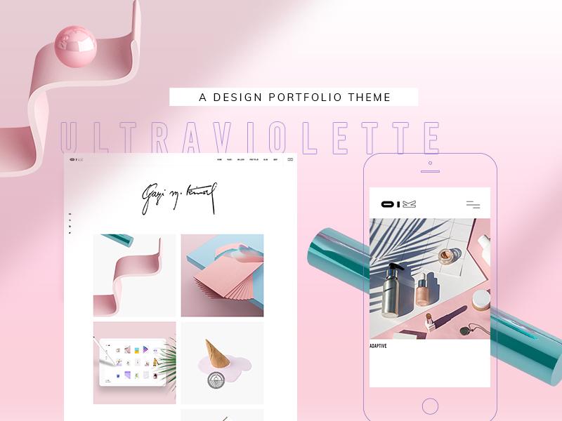 UltraViolette animation interactive theme ui ux wordpress website mockup layout webdesign template landing page creative portfolio design designer creative agency branding responsive agency digital