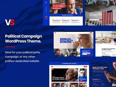 VoteStart political party candidate donations activism voting election day elections political campaign political politics responsive landing page template layout webdesign website mockup wordpress ux ui theme
