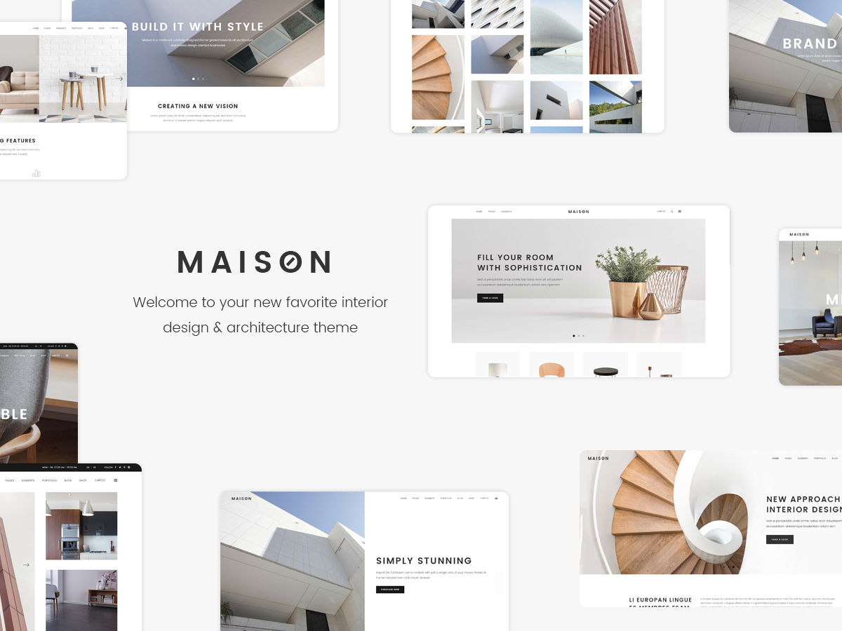 Maison By Qode Interactive On Dribbble