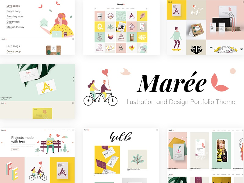 Marée by Qode Interactive on Dribbble