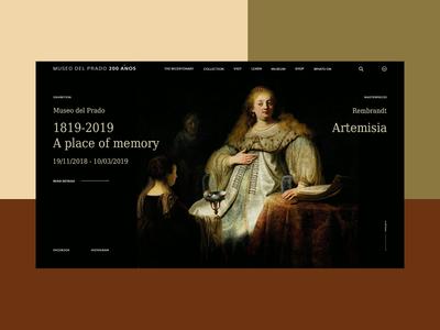 Concept-design. Museo Nacional del Prado
