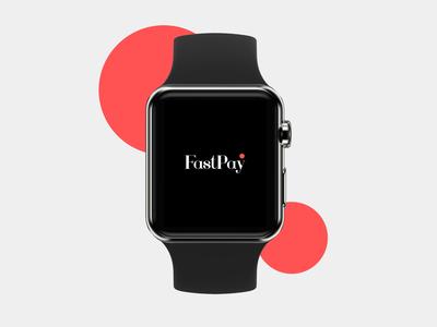 Daily Creative Challenge UI/UX – Smart watch app sending cash