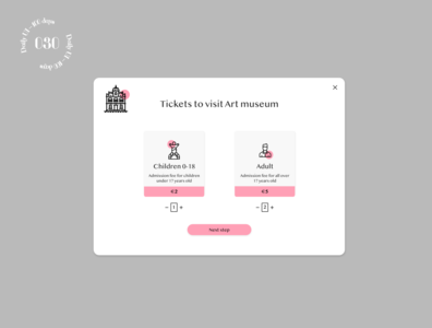 Daily UI #030 / Pricing tickets pricing daily ui ui daily 100 challenge