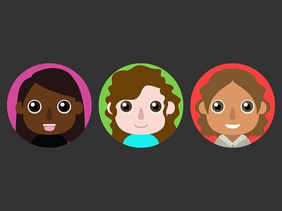 SenseU NPC Chat Avatars chat video game game avatar characters character design