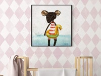 """Mouse With A Buoy"" art print"