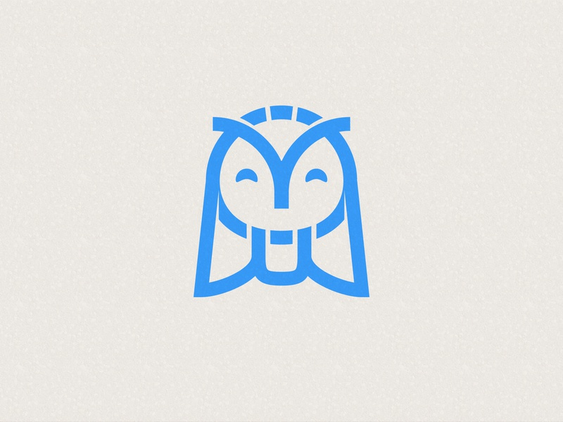 Method Supply Logo illustration owl icon design brand logo