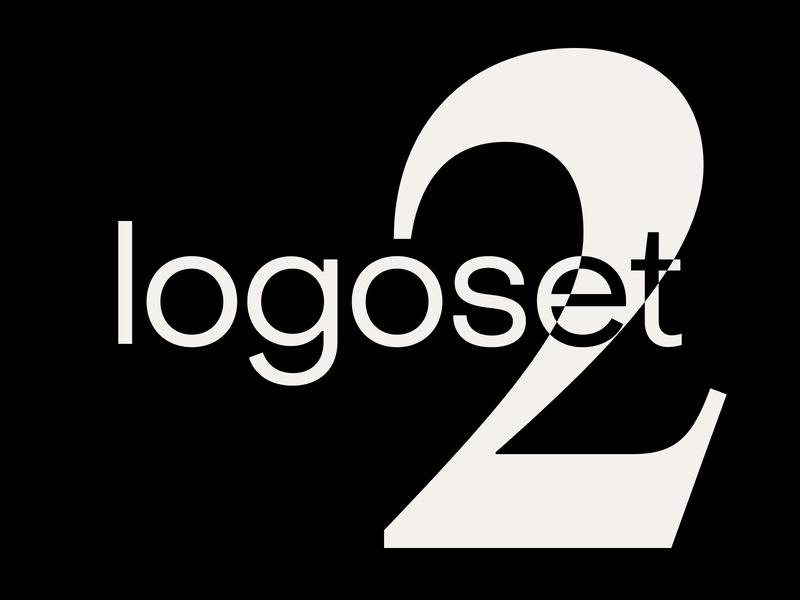 Logoset 2 — Various logo designs branding typography logo illustration design brand