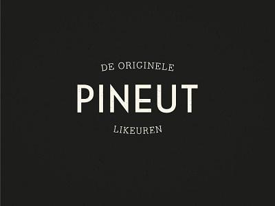 Pineut — Brand liquor illustration flat minimal icon vector logo brand design