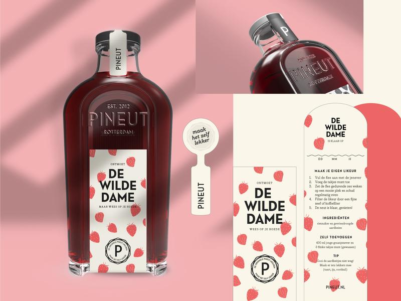 Pineut — Custom Bottle Design