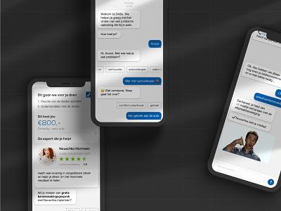 Das — Chat conversational chat prototype ux ui design