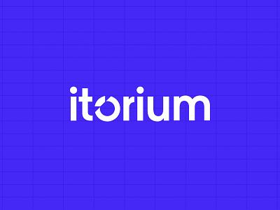 Itorium Brand & Website website branding typography logo illustration 3d brand ui ux design