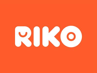 RIKO toys kids logo brand design