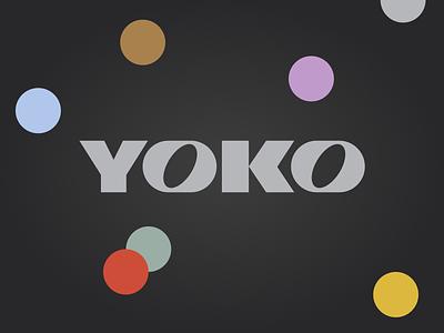 YOKO logo branding web ux ui design brand