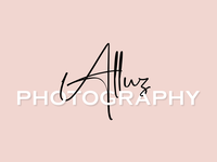 Alluz Photography Logo Design
